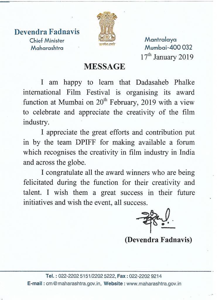 Hon. Chief Minister Devendra Fadnavis