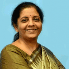 Finance and MCA Nirmala Sitharaman Ji